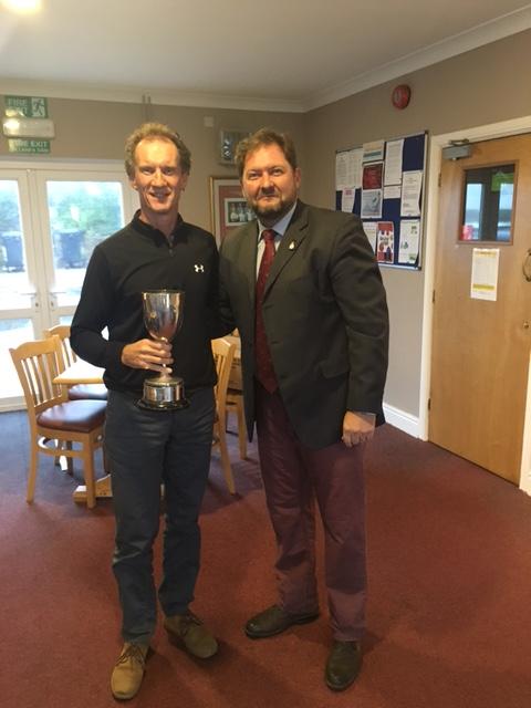 Alan Jones winner of the club Scratch cup
