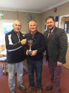 Gary Sharp and Andrew Morrissey  winners of Ken Woolgar Cup