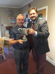 Brian Williams winning the DAG John trophy