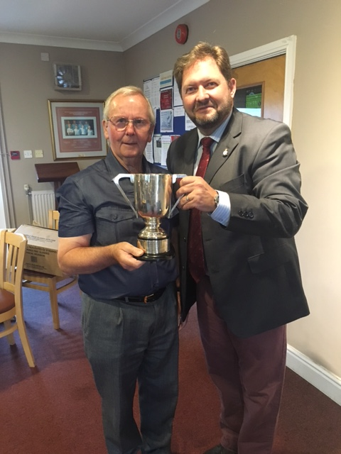 Brian Williams winning the DAG John trophy